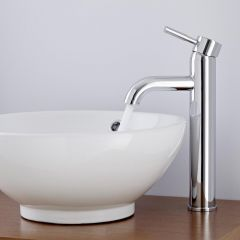 Milano Mirage Mono High Rise Basin Mixer Tap