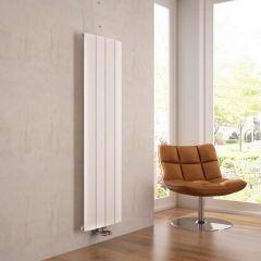 Milano Skye - White Vertical Designer Radiator - 1600mm x 375mm