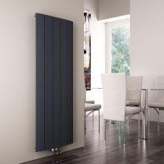 Milano Skye - Anthracite Vertical Designer Radiator - 1600mm x 470mm