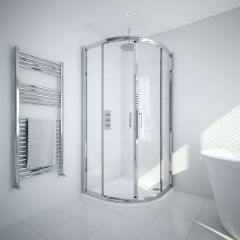 Milano Portland 900mm Quadrant Shower Enclosure 6mm