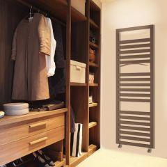 Lazzarini Way - Urbino - Anthracite Designer Heated Towel Rail - 1600 x 500mm