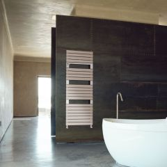 Lazzarini Way Torino - Mineral Quartz Designer Heated Towel Rail - 1360mm x 550mm