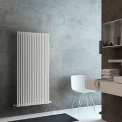Lazzarini Way - Grosseto V - White Designer Radiator - 1506 x 680mm