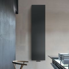 Lazzarini Way - Ischia - Anthracite Vertical Designer Radiator - 1800 x 450mm