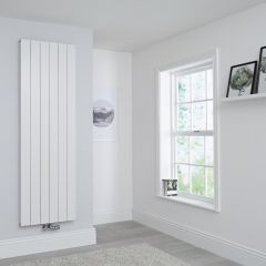 Milano Kit Aluminium Double Radiator White - 1800 x 565mm
