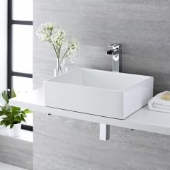 Milano Westby Countertop Basin with High Rise Tap