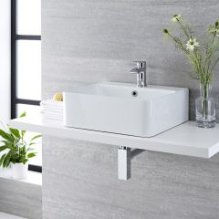 Milano Farington - Ceramic Countertop Basin 460 x 420mm
