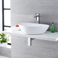 Milano Select - Ceramic Countertop Basin 590 x 390mm