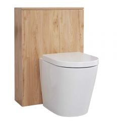 Milano Oxley - 600mm WC Unit - Golden Oak