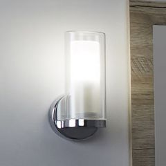 Milano Fischa Straight Bathroom Wall Light