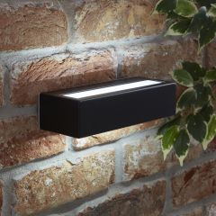 Biard Ternay IP44 LED Outdoor Wall Light - Black