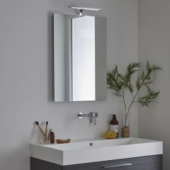 Milano Odiel - LED Bathroom Mirror with Demister