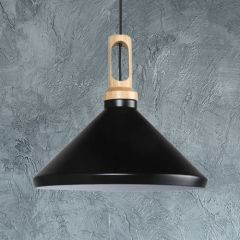 Biard Orlu Black Pendant Light