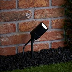 Biard Le Mans IP44 Outdoor Spike Light - Black