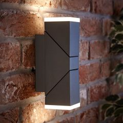 Biard Ziersdorf LED Adjustable Up/Down Light Square - Anthracite