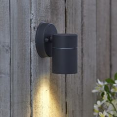 Biard Le Mans Up or Down Outdoor Wall Light - Anthracite