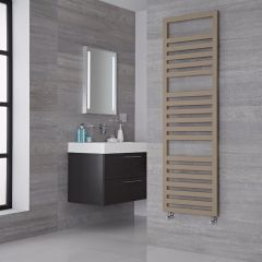 Lazzarini Way Urbino - Mineral Quartz Designer Heated Towel Rail - 1600mm x 500mm