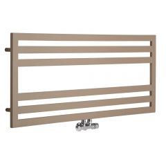 Lazzarini Way - Urbino - Mineral Quartz Designer Heated Towel Rail - 500mm x 1200mm