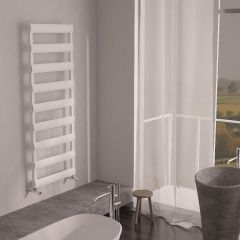 Milano Passo - Aluminium Designer Heated Towel Rail 1590 x 500mm White