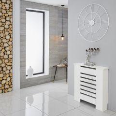 Milano Elstree - White Radiator Cabinet - 820mm x 780mm