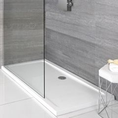 Milano Low Profile Rectangular Shower Tray 1000 x 700mm