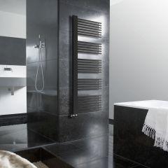 Lazzarini Way - Grado - Anthracite Designer Heated Towel Rail - 1600mm x 600mm