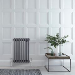 Milano Windsor - Traditional Anthracite Vertical Column Radiator - 600mm x 405mm (Triple Column)