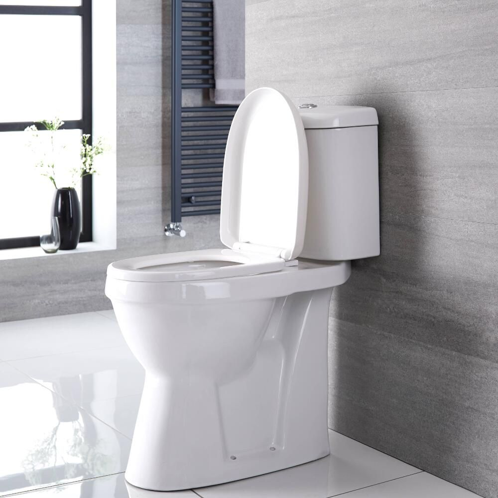 Milano Select - White Modern High Rise Disabled Doc M WC Toilet ...