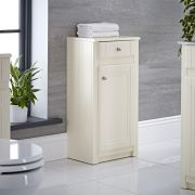 Milano Edgworth 400mm Traditional Storage Unit - Ivory