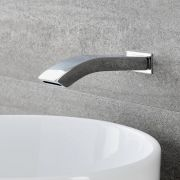 Milano Razor - Wall Mounted Basin or Bath Spout - Chrome