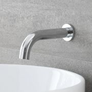 Milano Mirage - Wall Mounted Basin or Bath Spout - Chrome