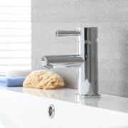 Milano Mirage - Modern Mono Basin Mixer Tap - Chrome