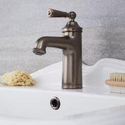Milano Washington - Traditional Mono Basin Mixer Tap - Oil Rubbed Bronze