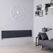 Milano Aruba - Anthracite Horizontal Designer Radiator - 354mm x 1600mm
