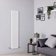 Milano Aruba - White Vertical Designer Radiator - All Sizes