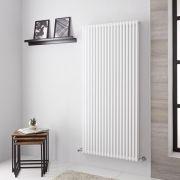 Lazzarini Way Grosseto V - White Vertical Designer Radiator - 1506mm x 680mm