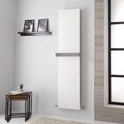 Lazzarini Way Ischia - White Vertical Designer Radiator - 1800mm x 450mm
