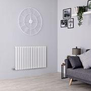 Milano Aruba Electric - White Horizontal Designer Radiator - 635mm x 1000mm