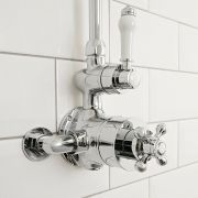 Milano Elizabeth - Traditional Twin Exposed Thermostatic Shower Valve