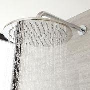 Milano Mirage - Modern Round 300mm Stainless Steel Shower Head - Chrome