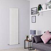 Milano Capri - White Flat Panel Vertical Designer Radiator - 1780mm x 472mm