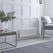 Milano Windsor - White Horizontal Traditional Column Radiator - 300mm x 785mm (Triple Column)