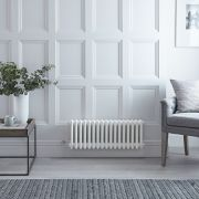 Milano Windsor - Traditional White 3 Column Electric Radiator - 300mm x 785mm (Horizontal) - with Choice of Wi-Fi Thermostat