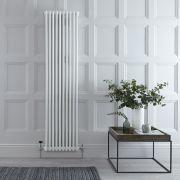 Milano Windsor - White Vertical Traditional Column Radiator - 1800mm x 470mm (Triple Column)