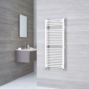 Sterling - White Flat Heated Towel Rail - 1200mm x 600mm