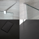 Milano Portland - Recessed Walk-In Shower Enclosure with Slate Tray - Choice of Sizes
