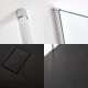 Milano Alto Corner Walk-In Shower Enclosure (1400 x 900mm) - Inc. Slate Tray
