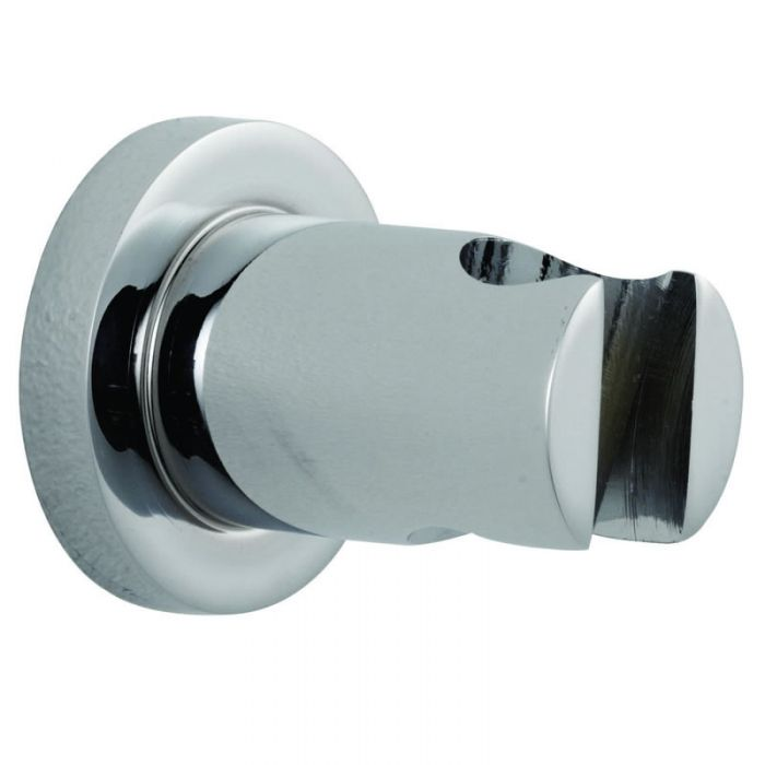 Milano Mirage - Modern Wall Mounted Hand Shower Bracket - Chrome