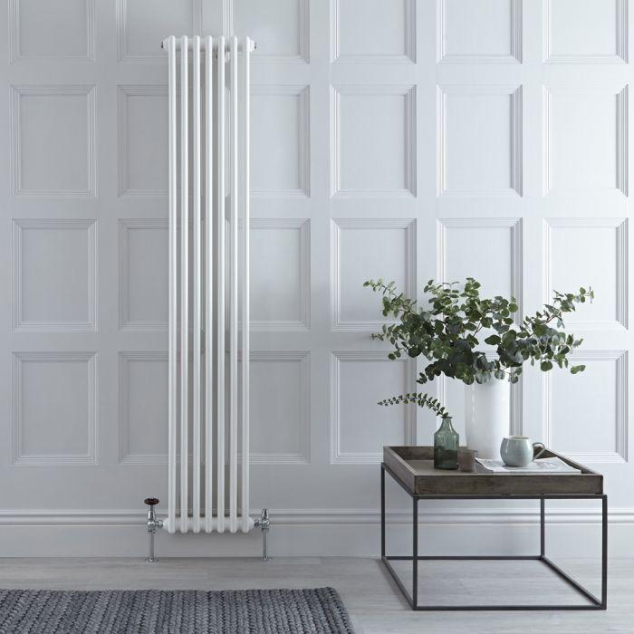Stelrad Regal - White Traditional Vertical Column Radiator - 1800mm x 352mm (Double Column)