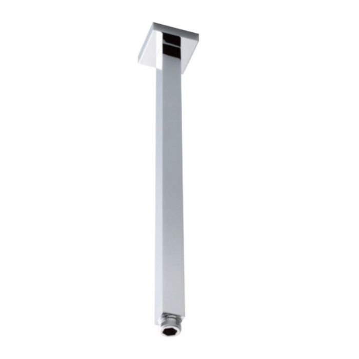 Milano Arvo - Chrome 360mm Ceiling Mounted Shower Arm